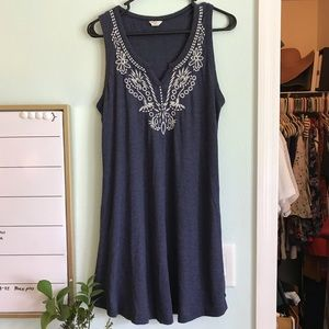 Lucky Brand Dresses - Lucky Brand Embroidered Dress